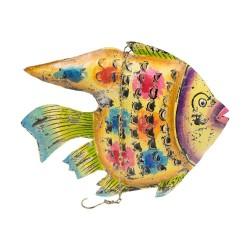 Candelabro pez multicolor