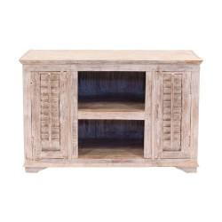 Mueble de televisión de madera Mallorca