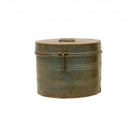 Caja de chapa ovalada