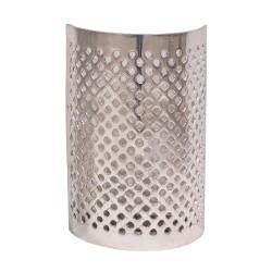 Aplique de aluminio calado