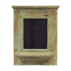 Pizarra de madera verde