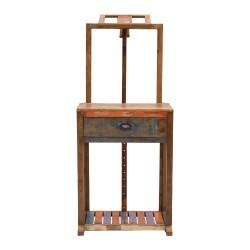 Atril de madera estilo vintage
