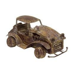 Coche metálico de estilo vintage marrón