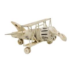 Avioneta vintage blanca