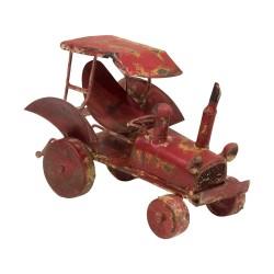 Tractor vintage rojo