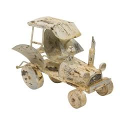Tractor vintage beige