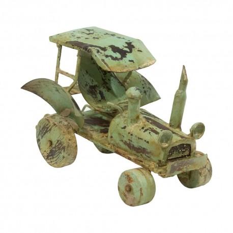 Tractor vintage verde