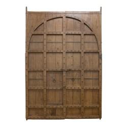 Pontón antiguo madera de medio punto