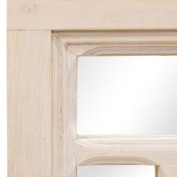 Espejo puerta antigua geométrico
