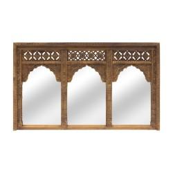 Espejo portada arcos madera
