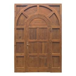 Puerta de madera modelo París