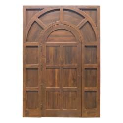 Puerta de madera exterior modelo París