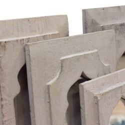 Espejo erita madera gris