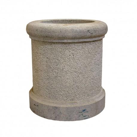 Brocal pozo de granito