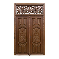 Puerta modelo Señorial barroca de 2 hojas talladas
