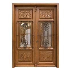 Puerta madera exterior modelo Viena