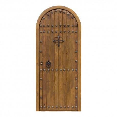 Puerta madera modelo Castillo