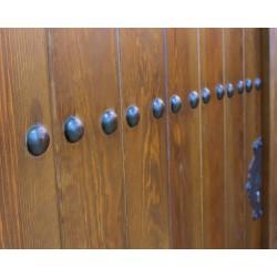 Puerta madera modelo León