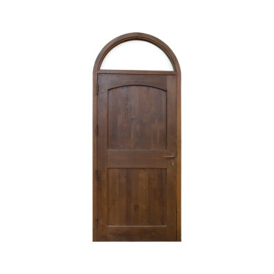 Puerta de madera modelo Alcalá medio punto