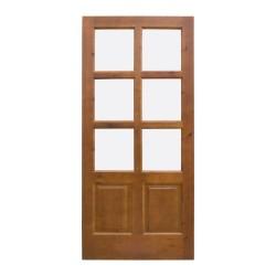 Puerta  madera de paso modelo Talavera