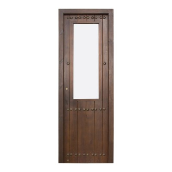 Puerta madera de paso modelo Posada