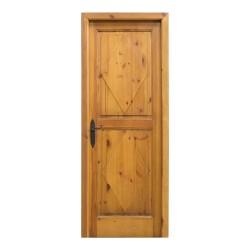 Puerta madera de paso modelo Rombos