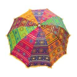 Sombrilla tela de colores