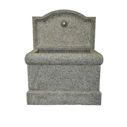 Fuente de granito de pared