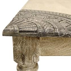 Mesa crema mandalas
