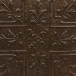 Panel decorativo de chapa