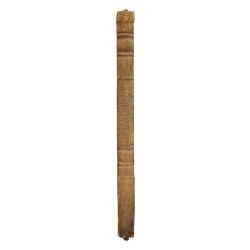 Columna antigua madera