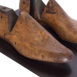 Lámpara de sobremesa hormas zapato