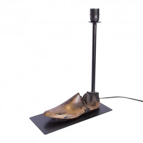 Lámpara de sobremesa horma de zapato
