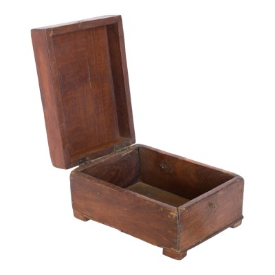 Joyero antiguo de madera