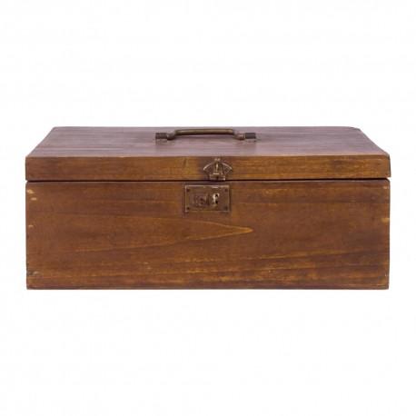 Caja costurero de madera
