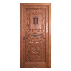 Puerta de madera exterior modelo Aranjuez