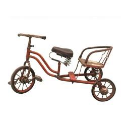 Triciclo madera y metal
