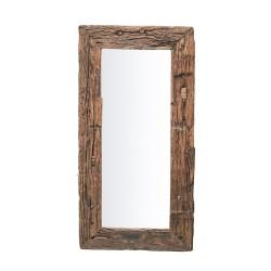 Espejo rústico rectangular
