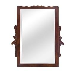 Espejo antiguo de madera de haya