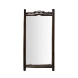 Espejo rectangular de madera sencillo