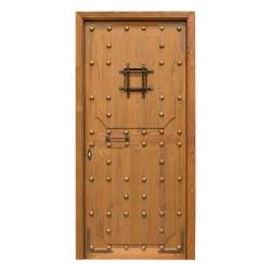 Puerta de madera exterior modelos Castellana