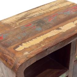Aparador de maderas recicladas colores