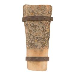 Aplique de teja con lamas