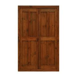Puerta antigua paso 8 cuarterones