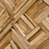Panel rectangular madera reciclada