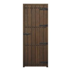 Puerta de paso rústica de duelas ALPUJARRA