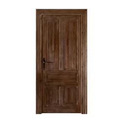 Puerta estilo castellano veta prominente