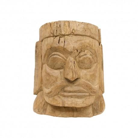 Máscara hindú hombre mostacho