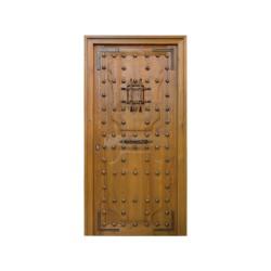 Puerta madera exterior modelo Castellana