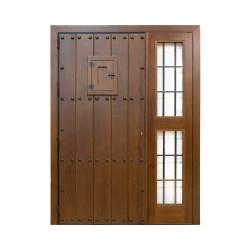 Puerta León blindada más fijo